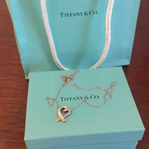 Paloma Picasso Loving Heart Tiffany Necklace